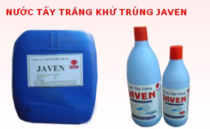 Kết quả hình ảnh cho hóa chất tẩy rửa javen