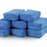 Applicator xanh để bôi wax Chemical Guys Microfiber